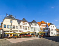 Old market place in St. Wendel, Fruitmarket Stock Images