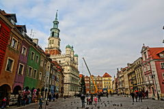 Old market of Poznan Royalty Free Stock Photography
