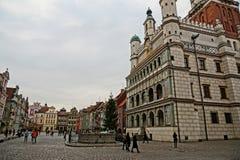 Old market of Poznan Royalty Free Stock Photo