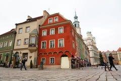 Old market of Poznan Stock Photo