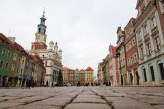 Old market of Poznan Royalty Free Stock Images