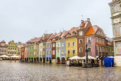 Old market of Poznan royalty free stock image