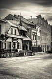Old market saquare in Kazimierz Dolny Royalty Free Stock Photography