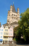 Old Market Square in Cologne, Germany Stock Photography