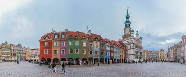 Old Market Square Panorama II Royalty Free Stock Images