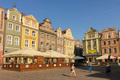 Old Market Square. Poznan. Poland Stock Photo