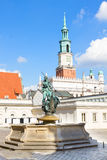 Old market square in Poznan, Poland Royalty Free Stock Image