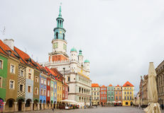 Old market square in Poznan,  Poland Royalty Free Stock Photography