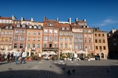Old Market Square in Warsaw Royalty Free Stock Photos