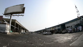 Old markets in south Jeddah city at afternoon stock footage