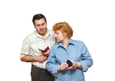Old a married couple Stock Image