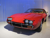 Old Maserati Car. An old Maserati car in exhibition hall Stock Photo