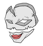 Old mask Royalty Free Stock Photo