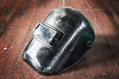 Old mask protect welding Royalty Free Stock Photography