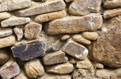 Old masonry stone wall texture Royalty Free Stock Photos