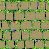 Old Masonry Tile Stock Photo