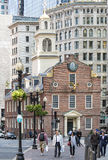 Old Massachusetts State House Stock Image