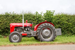 Old massey fergusen tractor Royalty Free Stock Photography