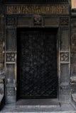 Old massive austrian doors of 19 century Royalty Free Stock Photography