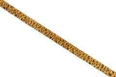 Old massive gold chain Royalty Free Stock Photo
