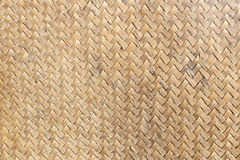 Old mat of sedge weave texture background Stock Photo