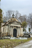 Old mausoleum Stock Images