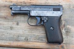 Old Mauzer hand gun Royalty Free Stock Photos
