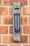 Old Maximum Minimum Thermometer Royalty Free Stock Photos