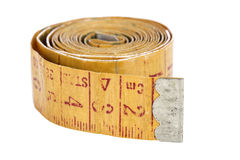 Old measure tape Stock Photography