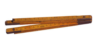 Old measure tool Royalty Free Stock Images