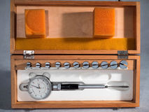 Old measuring instruments Stock Photography