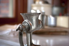Old meat grinder. Stock Image