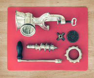 Old meat-grinder Royalty Free Stock Photo