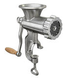 Old meat grinder isolated on white background. 3D illustration Royalty Free Stock Image