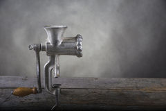Old Meat grinder Stock Photos