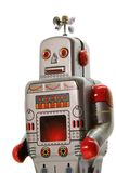 An old mecanical robot frontal view Stock Image