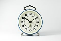 Old mechanical alarm clock Stock Photos