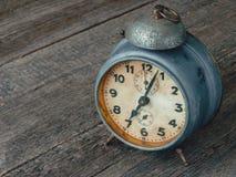 Old mechanical alarm clock Stock Photos