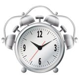 Old mechanical alarm clock. Royalty Free Stock Images