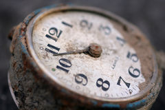 An old mechanical clock Royalty Free Stock Photo