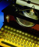 Old Mechanical Desktop Typewriter Royalty Free Stock Photography