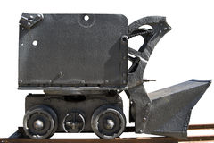 Old Mechanical Shovel to Mine Stock Photo