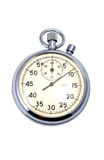 Old Mechanical Stopwatch Royalty Free Stock Photos