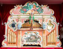 Old mechanical street organ Royalty Free Stock Photography