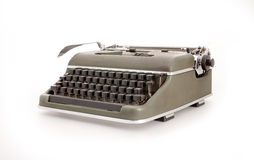 Old mechanical typewriter Royalty Free Stock Images
