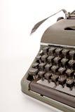 Old mechanical typewriter Stock Image