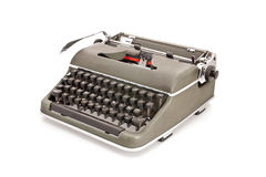 Old mechanical typewriter Stock Photo