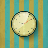 Old mechanical wall clock Stock Photo