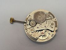 Old Mechanical Watch Movement Royalty Free Stock Photography