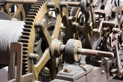 Old mechanism Royalty Free Stock Photo